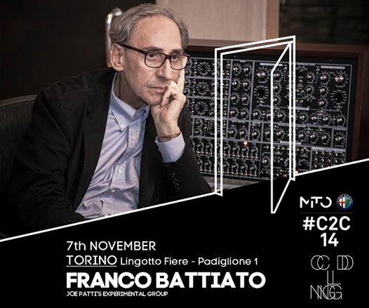 Franco Battiato al Club To Club Festival