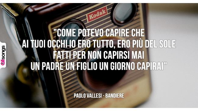 Paolo Vallesi: le migliori frasi dei testi delle canzoni