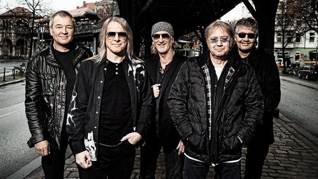 I 5 membri dei Deep Purple nel 2014