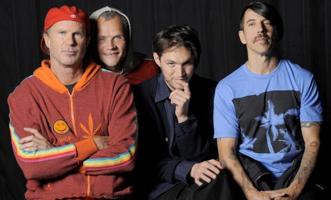 Anthony Kiedis, cantante dei Red Hot Chili Peppersy