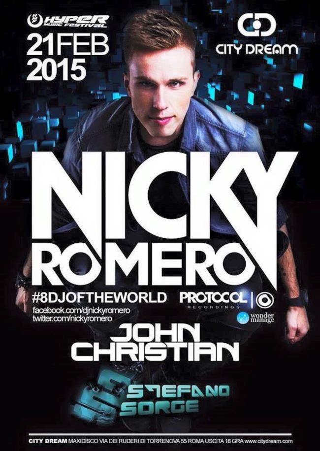 Nicky Romero torna in Italia con una serata a Roma
