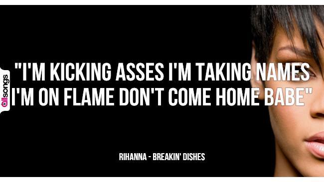Favorito Rihanna: le migliori frasi delle canzoni | AllSongs DQ82