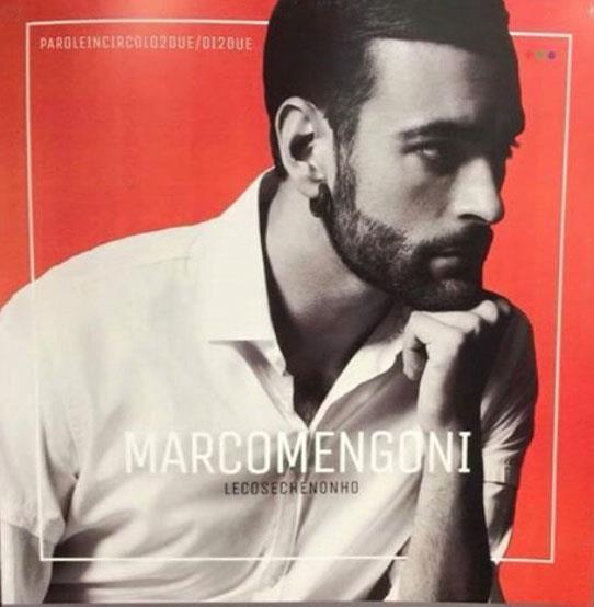Marco Mengoni sulla copertina del nuovo album Le Cose Che Non Ho