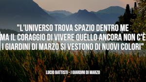 Lucio Battisti: le migliori frasi dei testi delle canzoni