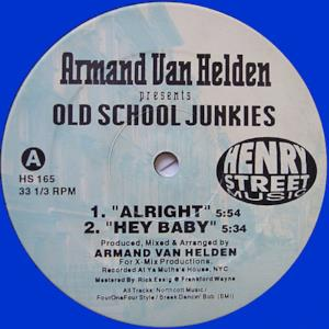 Armand Van Helden presents Old School Junkies (Remaster) - EP