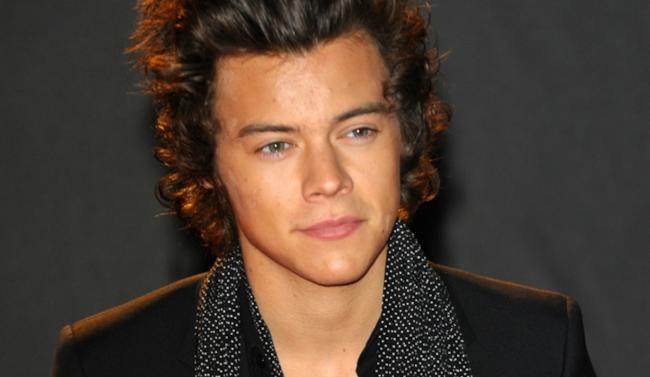 Primo piano di Harry Styles