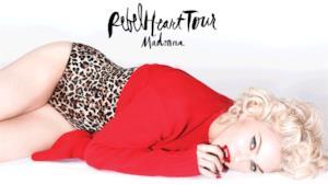 Madonna Rebel Heart Tour 2015 locandina