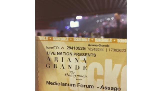 Ariana Grande, le foto del concerto al Mediolanum Forum (25 maggio 2015)