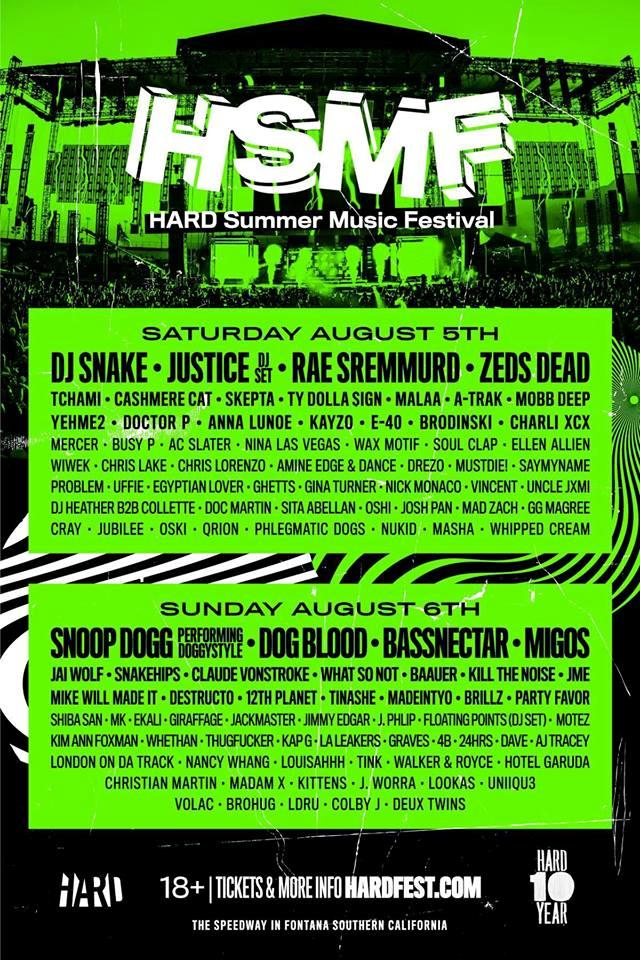 HARD Summer 10 Year