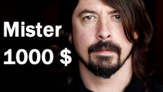 Dave Grohl lascia 1000 dollari di mancia per due volte di fila