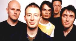 La band inglese dei Radiohead nel 1997