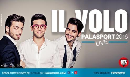 Piero, Ignazio e Gianluca insieme nel poster del tour invernale