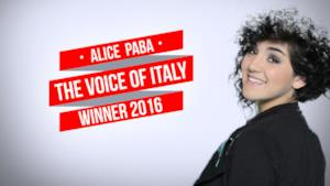 Alice Paba The Voice of Italy 2016