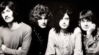 I quattro componenti dei Led Zeppelin