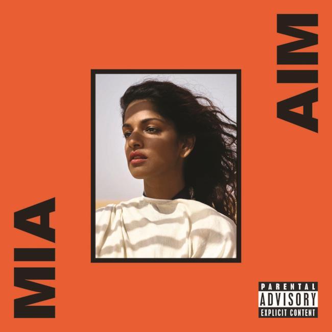 M.I.A. 2016 / album AIM