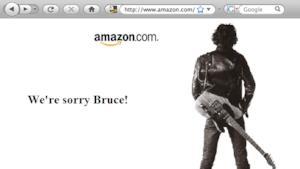 Bruce Springsteen: il nuovo album leakkato per errore da Amazon