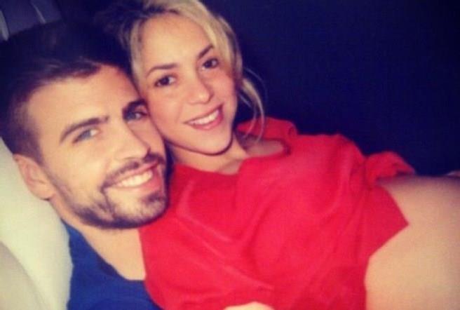 Shakira incinta di Pique