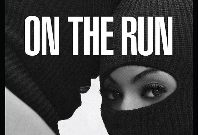 Locandina On The Run Tour Beyoncé e Jay-Z