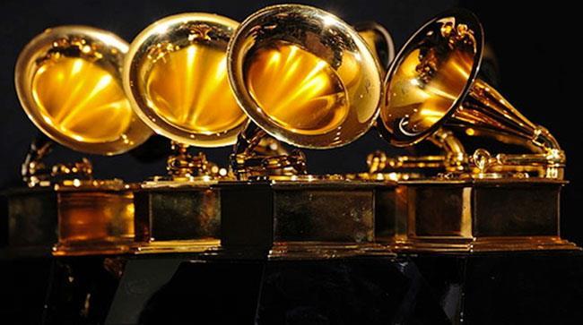 Alcune statuette dei Grammy