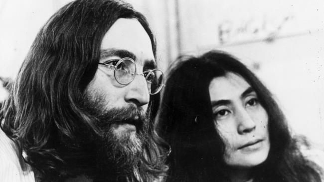 John Lennone  Yoko Ono