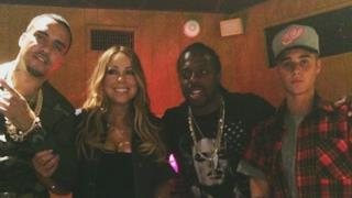 Mariah Carey, Justin Bieber e French Montana