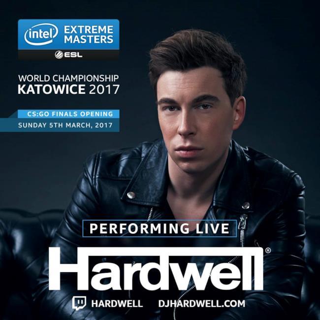 Hardwell alla serata degli IEM 2017