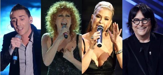 Modà, Fiorella Mannoia, Anastacia, Renato Zero