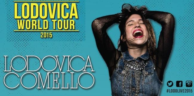 Lodovica Comello: locandina world tour 2015