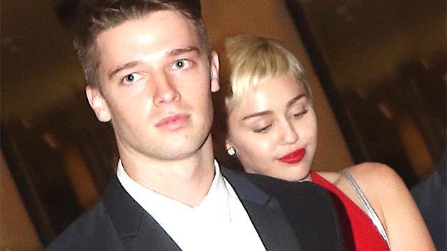 Miley Cyrus con Patrick Schwarzenegger