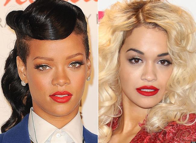 Rihanna e Rita Ora a confronto