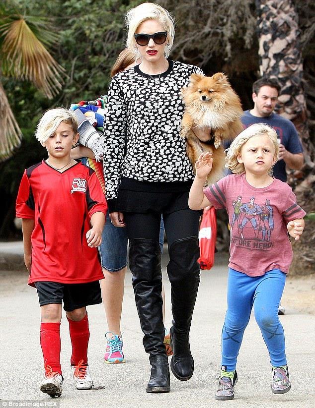 Zuma e Kingston sono i nomi dei figli di Gwen Stefani e Gavin Rossdale