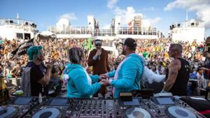 Un set durante l'Holy SHip! 2017