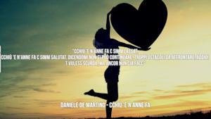 Daniele De Martino: le migliori frasi dei testi delle canzoni