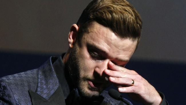 Justin Timberlake piange al Music Hall of Fame di Memphis