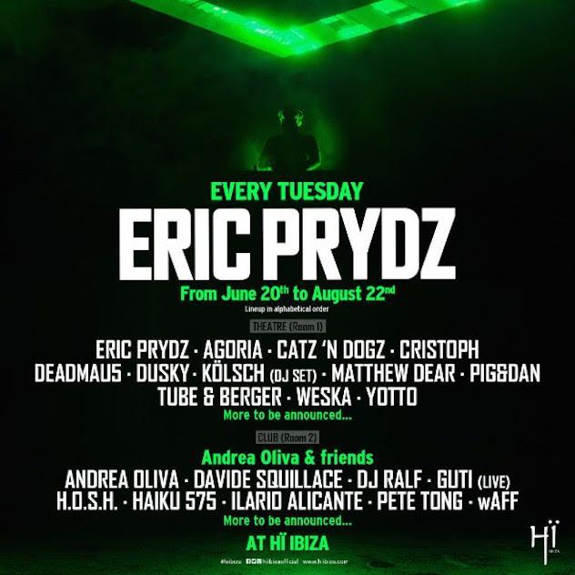 Eric Prydz @ Hi Ibiza