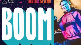 Tiësto alla consolle. La nuova traccia è Boom con il duo Sevenn