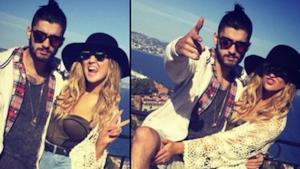 Zayn e Perrie in Puglia