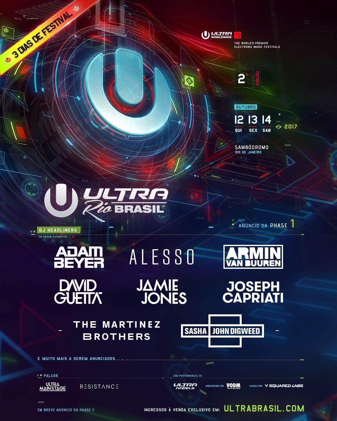 Ultra Music Festival: Rio De Janeiro