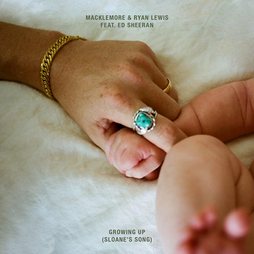 La cover di Growing Up, il nuovo singolo di Macklemore & Ryan Lewis ft. Ed Sheeran