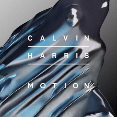 La copertina dell'album di Calvin Harris Motion