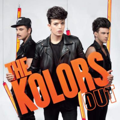 La copertina dell'album Out dei The Kolors