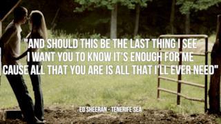 Ed Sheeran: le migliori frasi delle canzoni