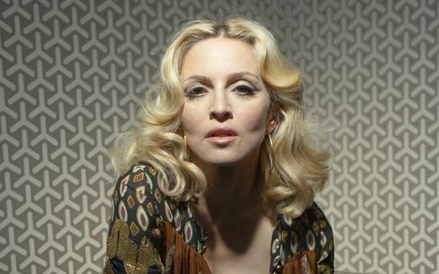 Madonna primo piano con rughe