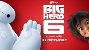 Poster Big Hero 6, il film Disney Natale 2014
