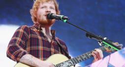 Ed Sheeran dal vivo al Corke Park di Dublino il 24 luglio 2015