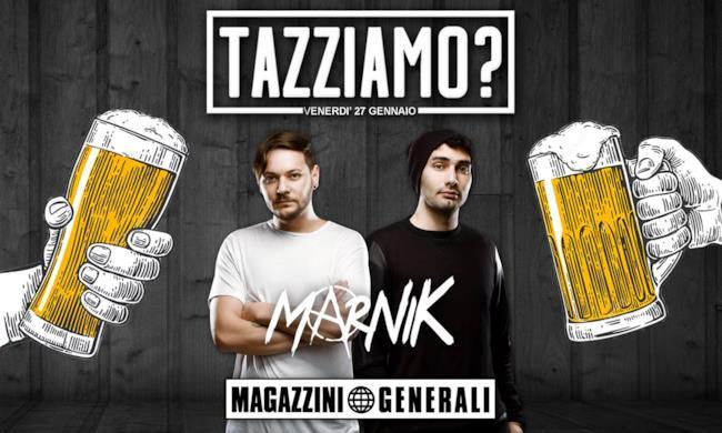 Il 27 gennaio dj set dei Marnik ai Magazzini Generali di Milano