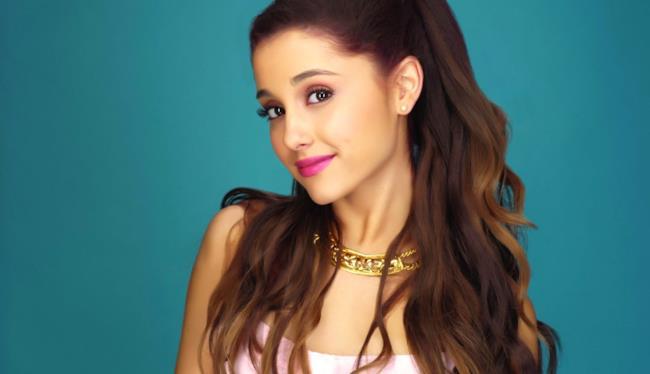 L'artista statunitense Ariana Grande