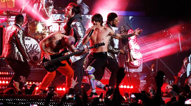 Red Hot Chili Peppers in versione live