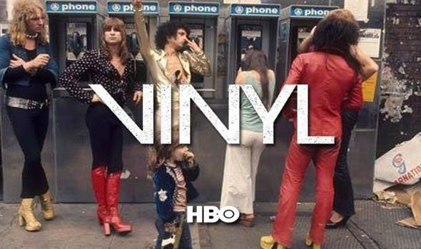 Una foto della nuova serie HBO Vinyl sulla musica anni '70