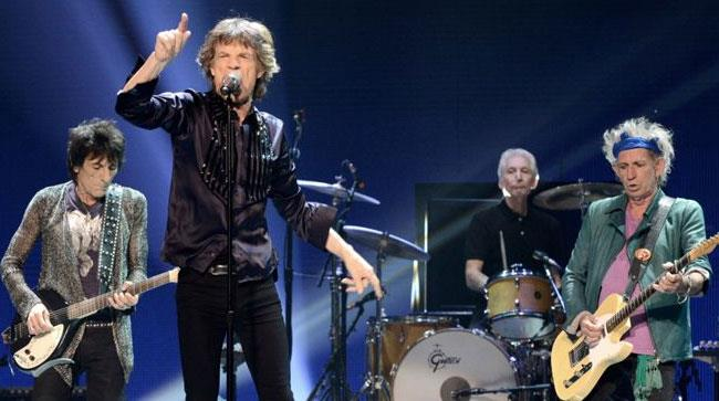 I Rolling Stones sul palco